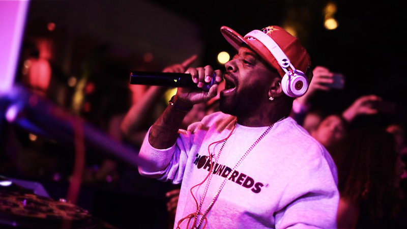 Jermaine Dupri DJ set