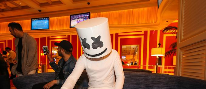 Before The Show With Marshmello