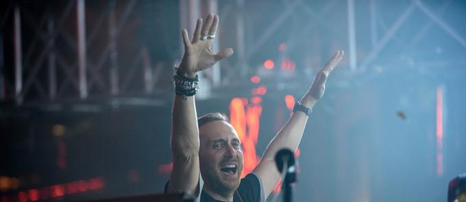 David Guetta Rocks Performance In Paris