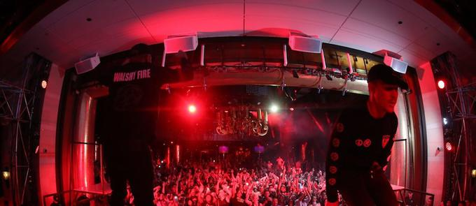 Major Lazer Shuts Down Sunday Night Swim At XS